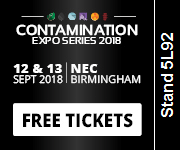 Contamination Expo Series 2018 - Visit Us on Stand 5L92 at the NEC