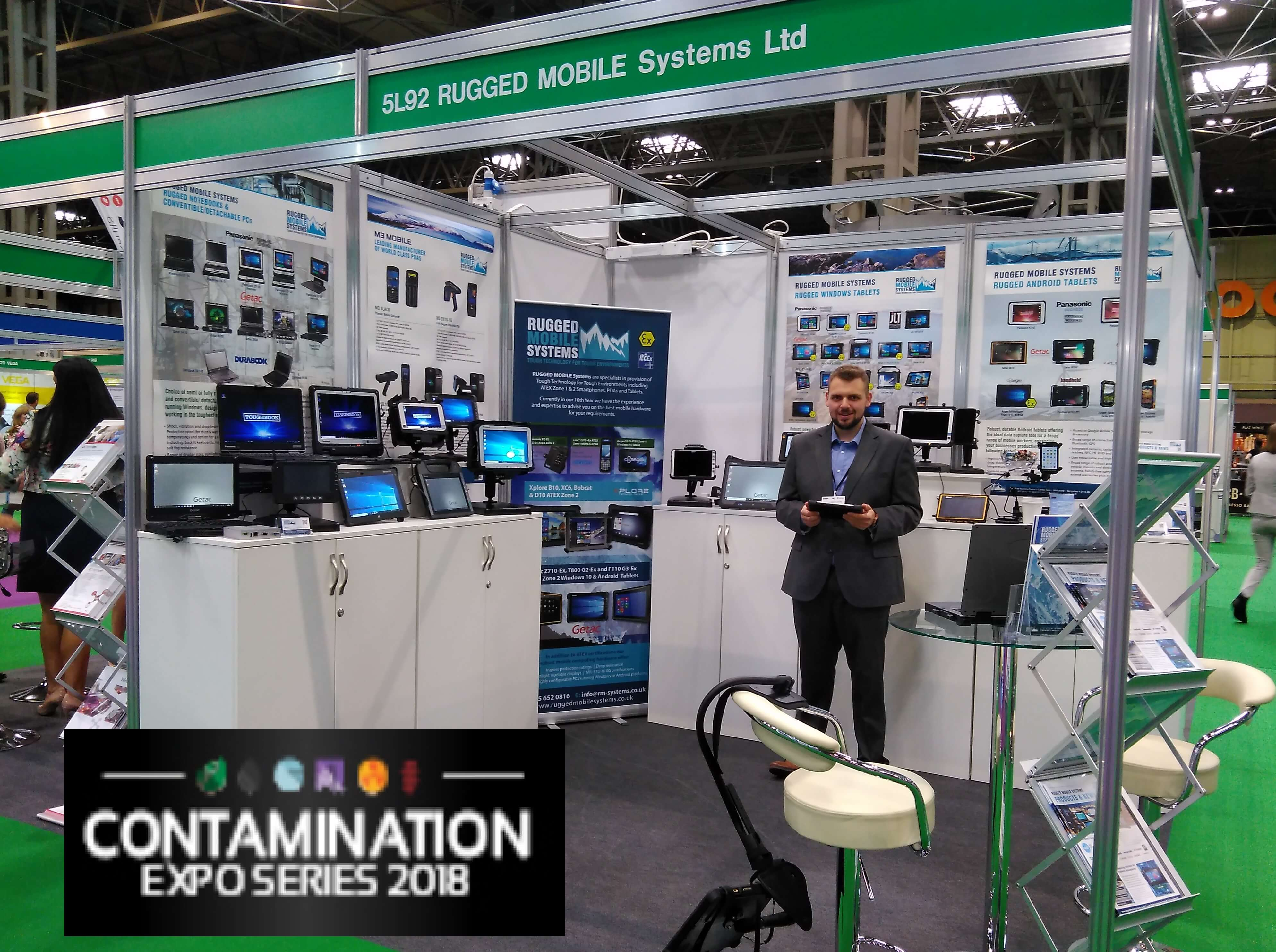 Contamination Expo Series 2018 - A productive 2 days meeting new companies
