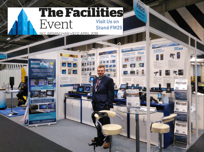 The Facilities Event 2018 - A productive Exhibition for RUGGED MOBILE Systems