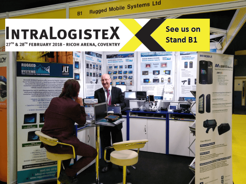 IntraLogisteX 2018 - RUGGED MOBILE Systems have a successful show