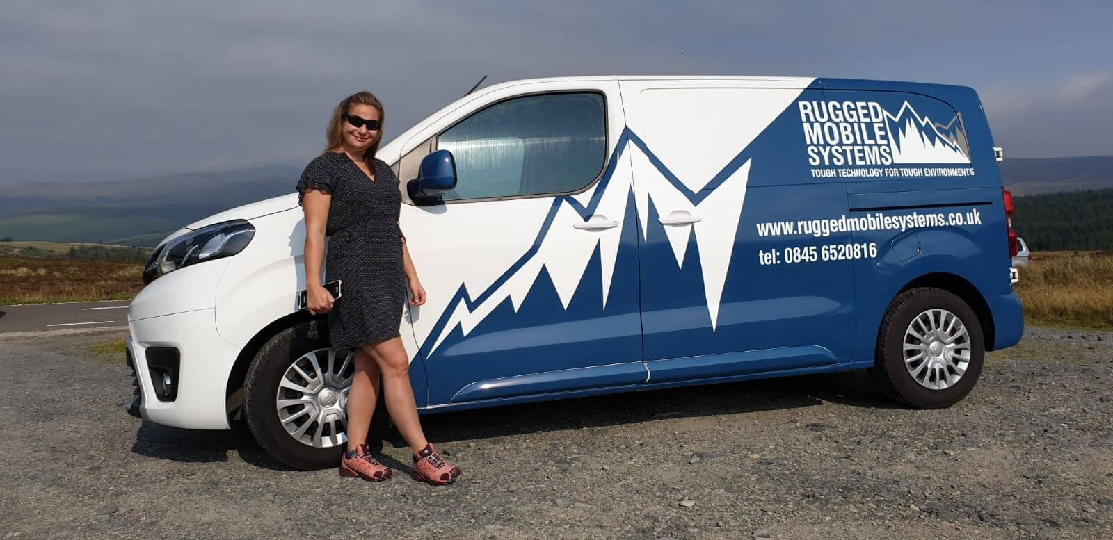 RUGGED MOBILE Systems new van is on the road!